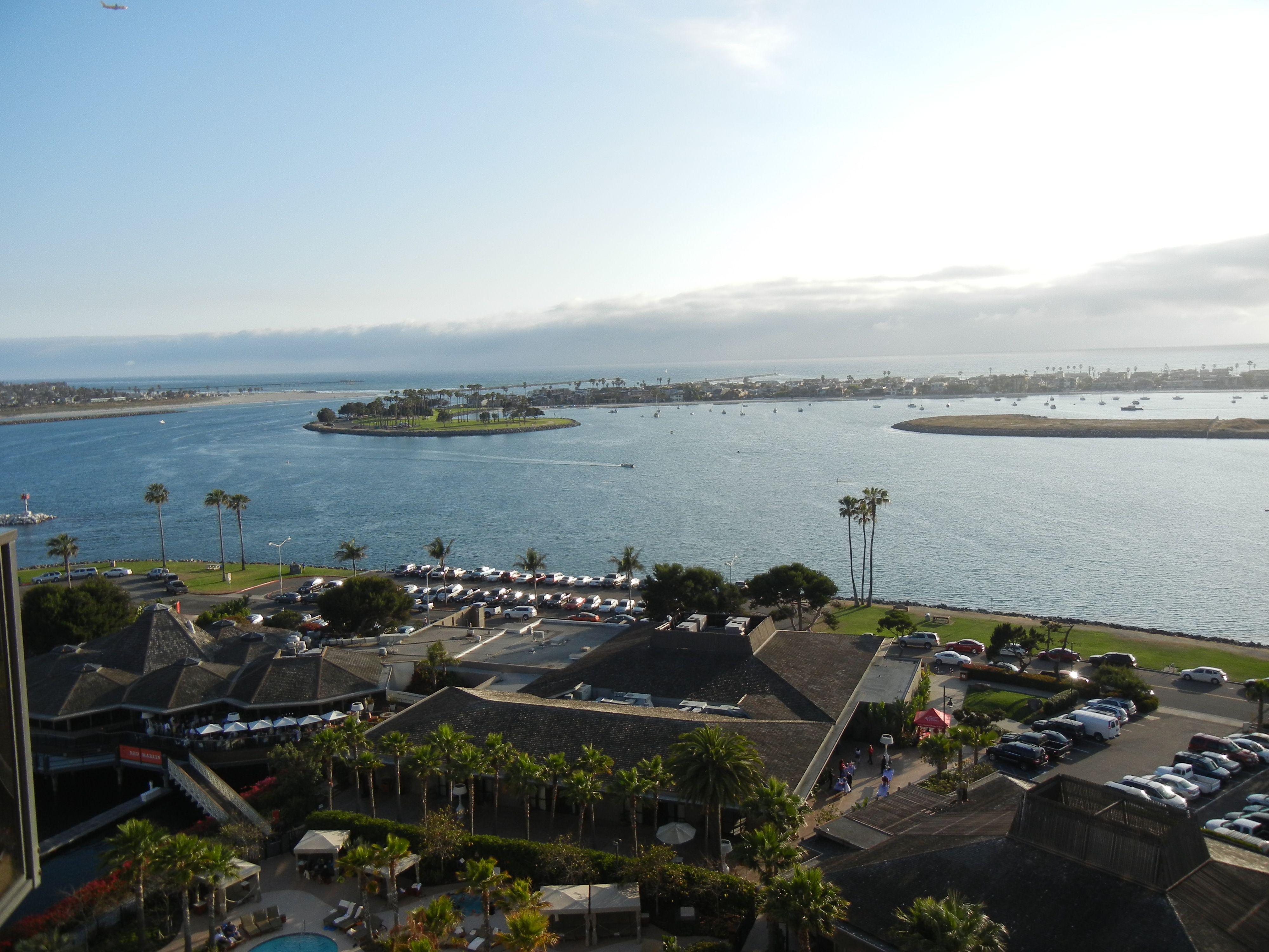 Mission Bay/Pacific Ocean @ Hyatt Mission Bay .June 2012.