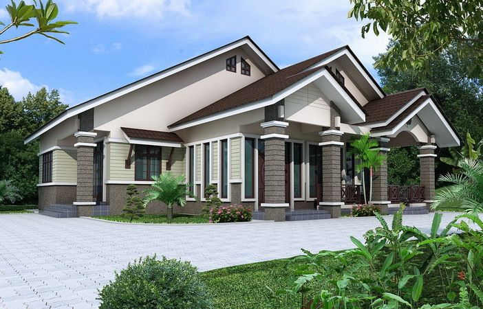 Rumah Banglo Moden 5 Jpg 702 450