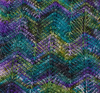 Get tips on a variety of Tunisian crochet stitches, including this chevron. Free dl ebook