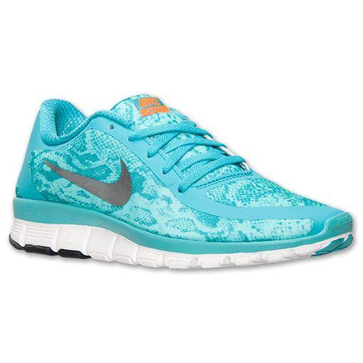 853b7850eedd Women s Nike Free 5.0 V4 Print Running Shoes