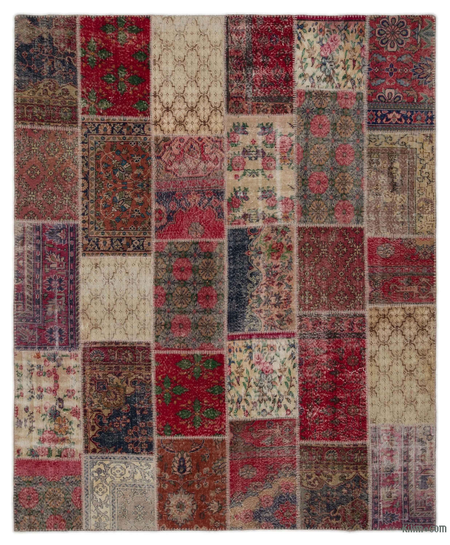 Turkish Patchwork Rug 7 11 X 9 95 In 117