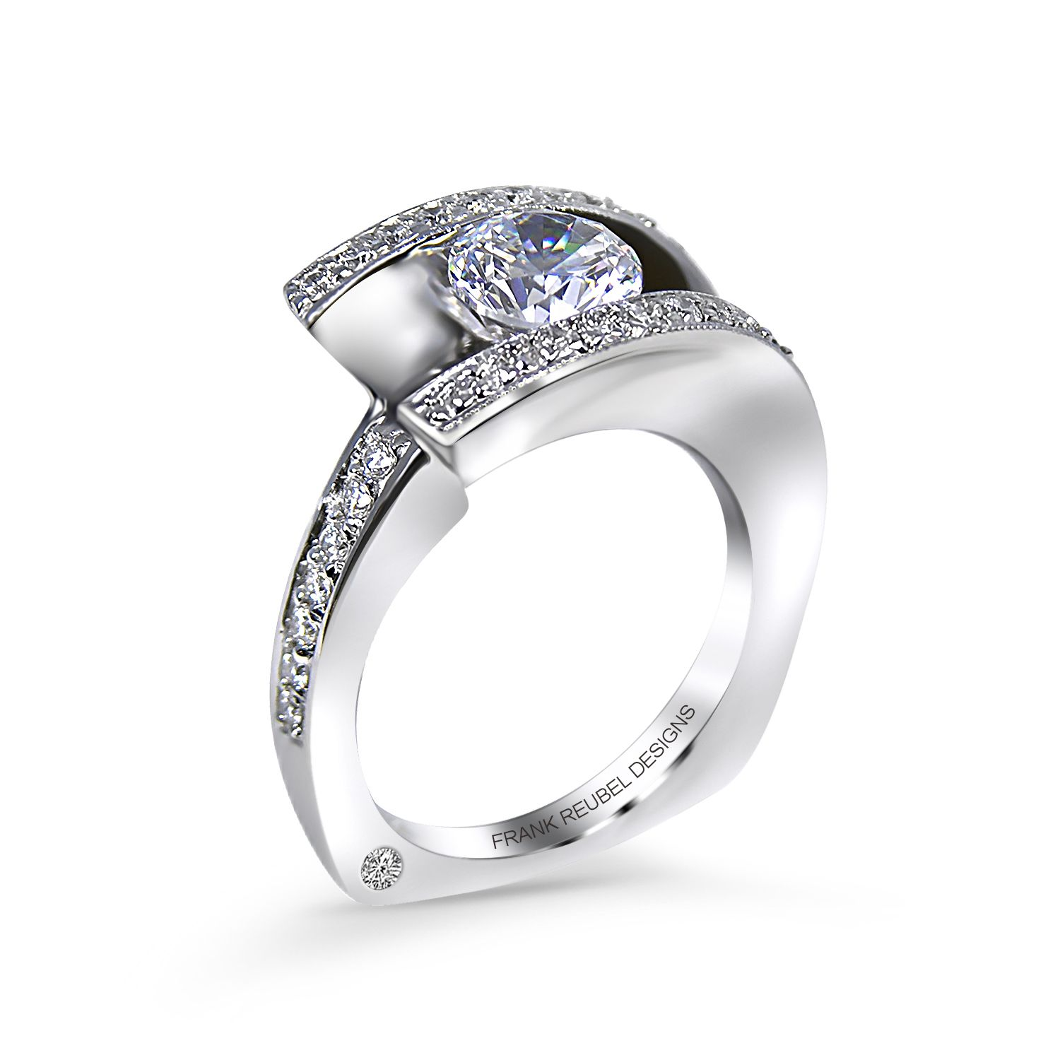 Modern Engagement Ring Designs Contemporary Engagement Ring