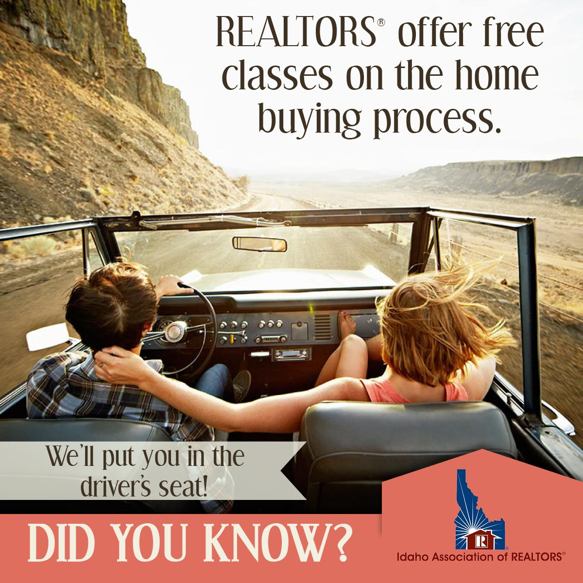 On the road to home ownership? Your REALTOR® has the