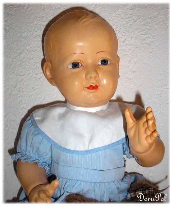 "French Celluloïd dolls ""PetitCollin"""