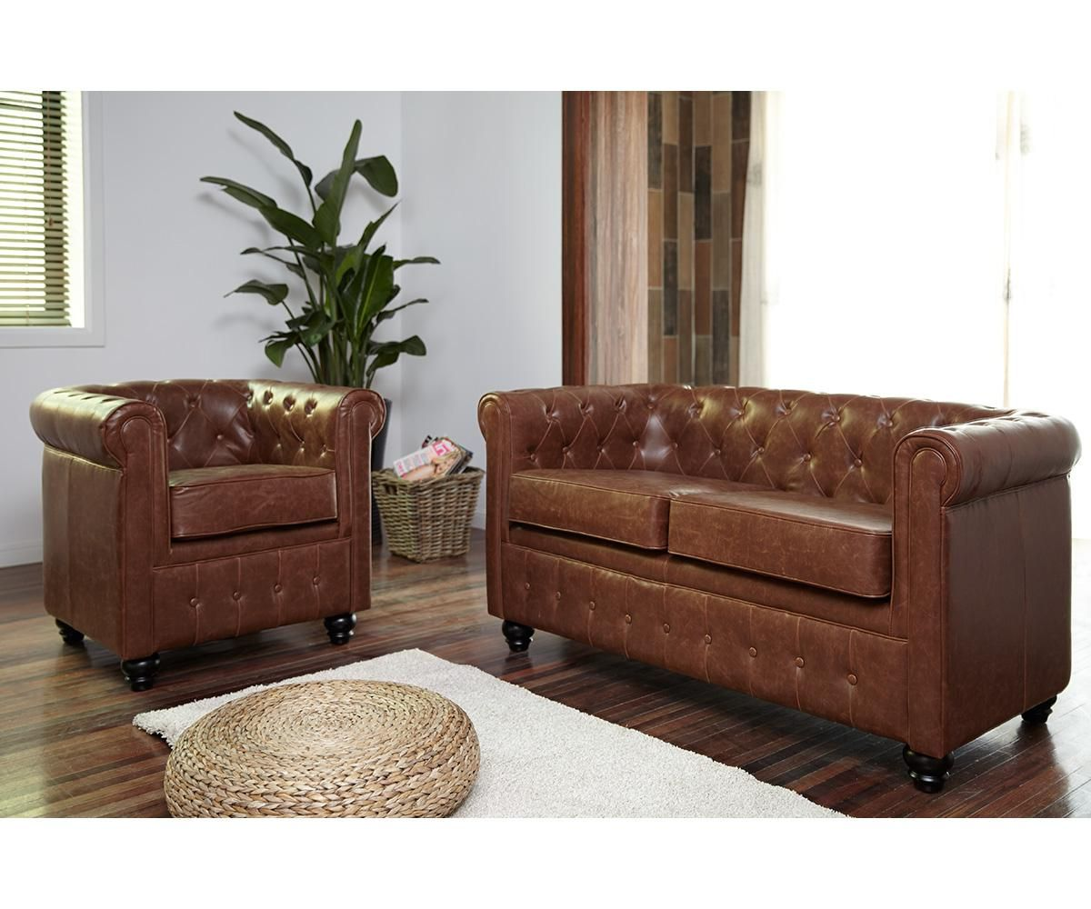 Canapé Chesterfield 2 Places Canapé Chesterfield 2 Places Vintage Home Living Maison Facile