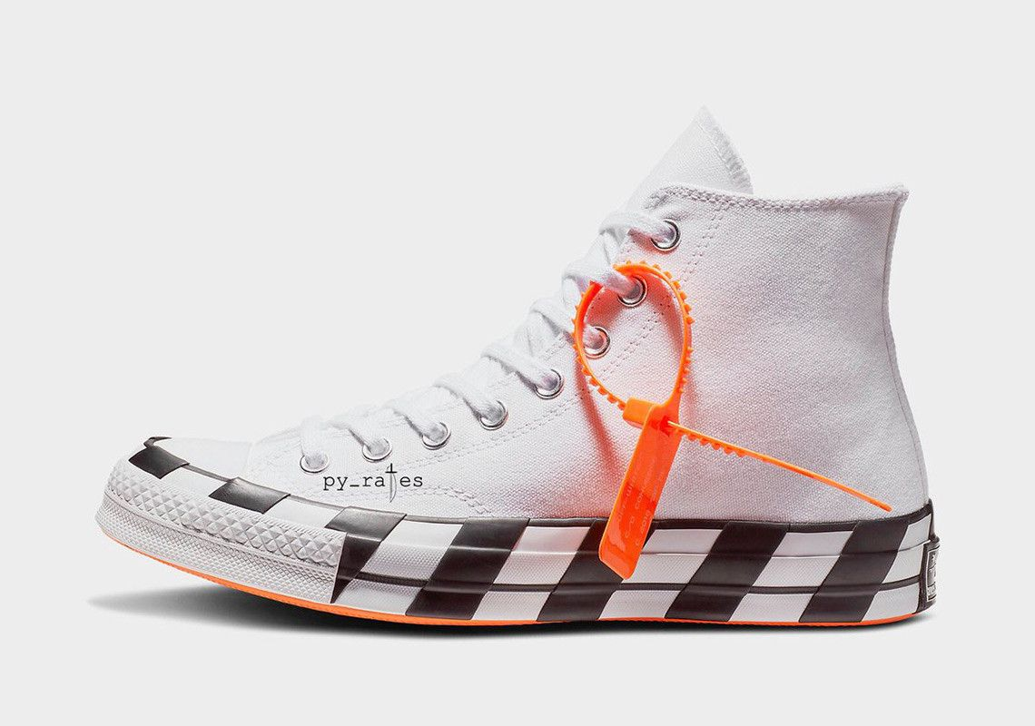 425e17a05301 Detailed Look At The Off-White x Converse Chuck 70 For October ...
