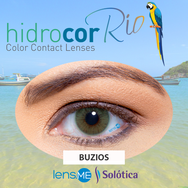Hidrocor Rio Buzios By Single Lens Darker Lashes Contact Lenses Colored Best Colored Contacts