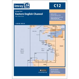 C12 eastern english channel passage chart imray chart new c12 eastern english channel passage chart imray chart ccuart Image collections