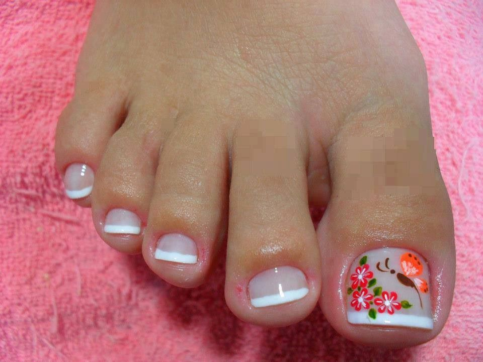 Pin by Yadira on uñas | Pinterest | Pedicures, Manicure and Toe nail art