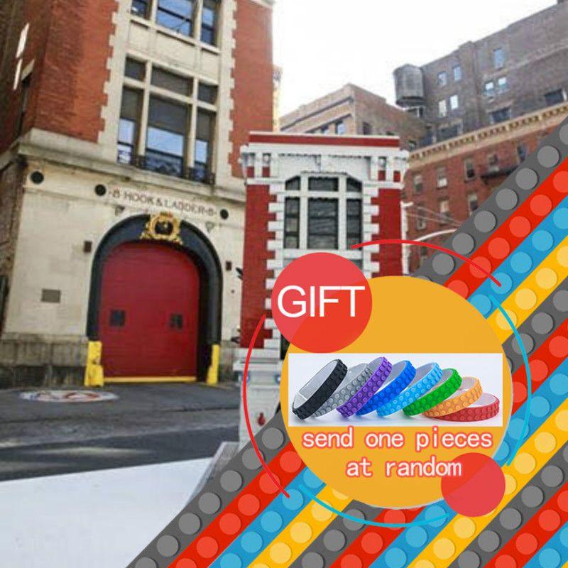 new bricks16001 4695pcs ghostbusters firehouse headquarters model rh pinterest co uk