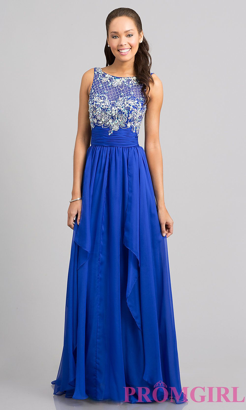 Long prom dresses sleeveless evening gowns prom gowns promgirl