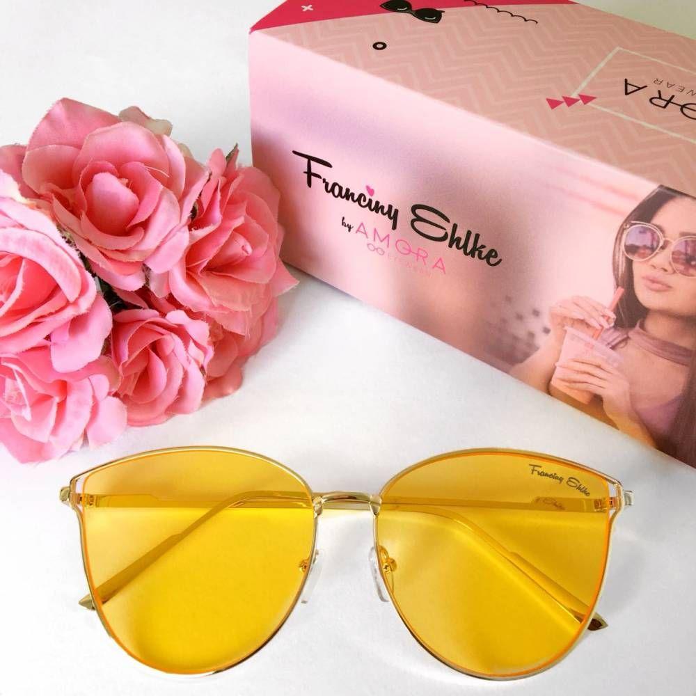 33a6ba1c3 Óculos Franciny Ehlke   Veneza Amarelo Transparente   Acessórios ...