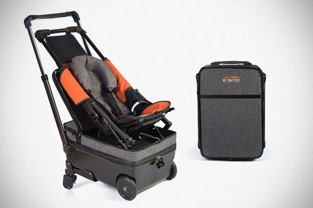 Born To Fly Baby Suitcase Baby Stroller Hybrid 产品设计