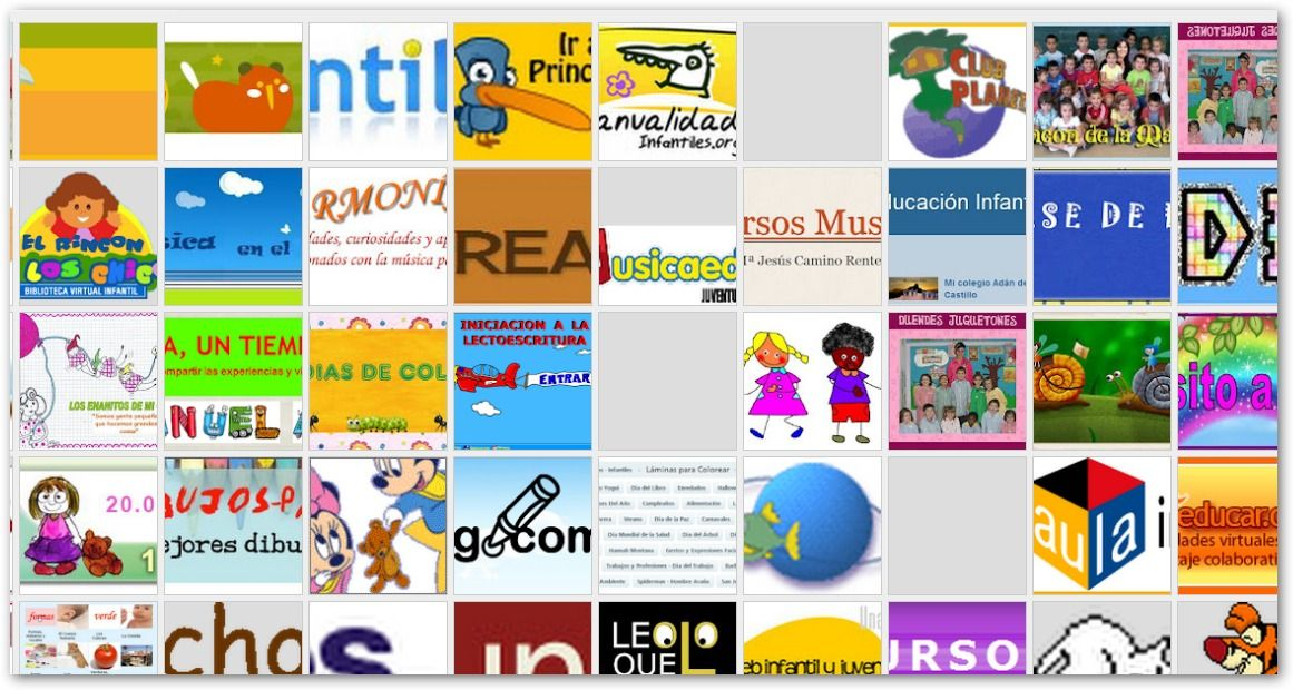 Recursos Para EducaciÓn Infantil: Recursos TIC Para Infantil