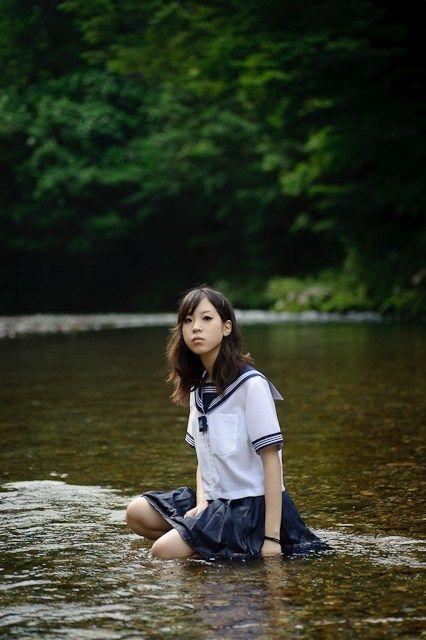 jk セーラー服 高画質 厳選画像 - セーラー服ときれいな風景