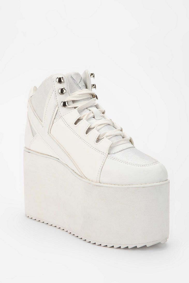 f7483c7acc99 SPICE GIRLS SHOES!!! Y.R.U. Qozmo Tonal High-Top Flatform-Sneaker ...