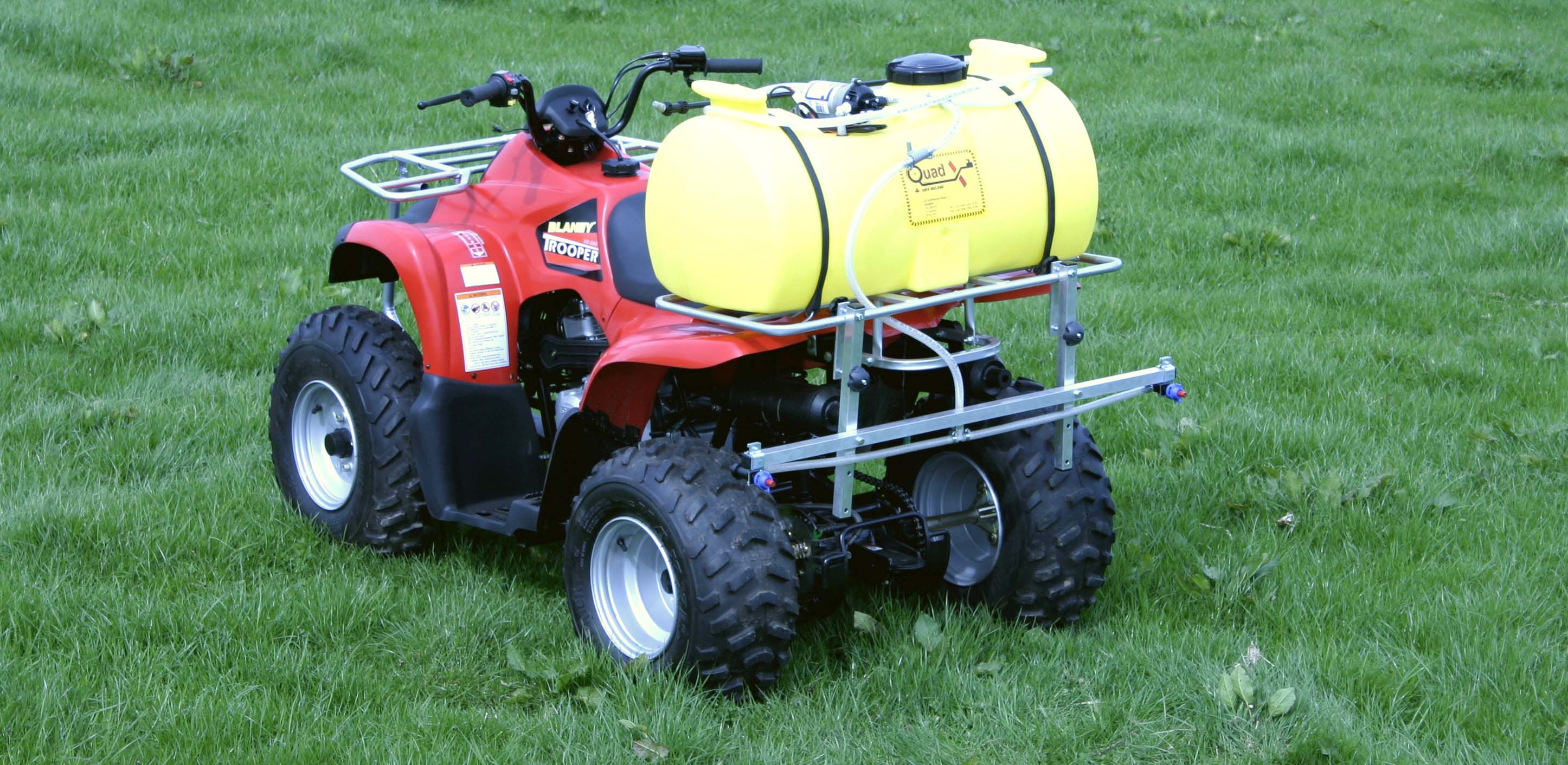 Wide Spray Boom Quad Accessories Atv Accessories For Farm Quads