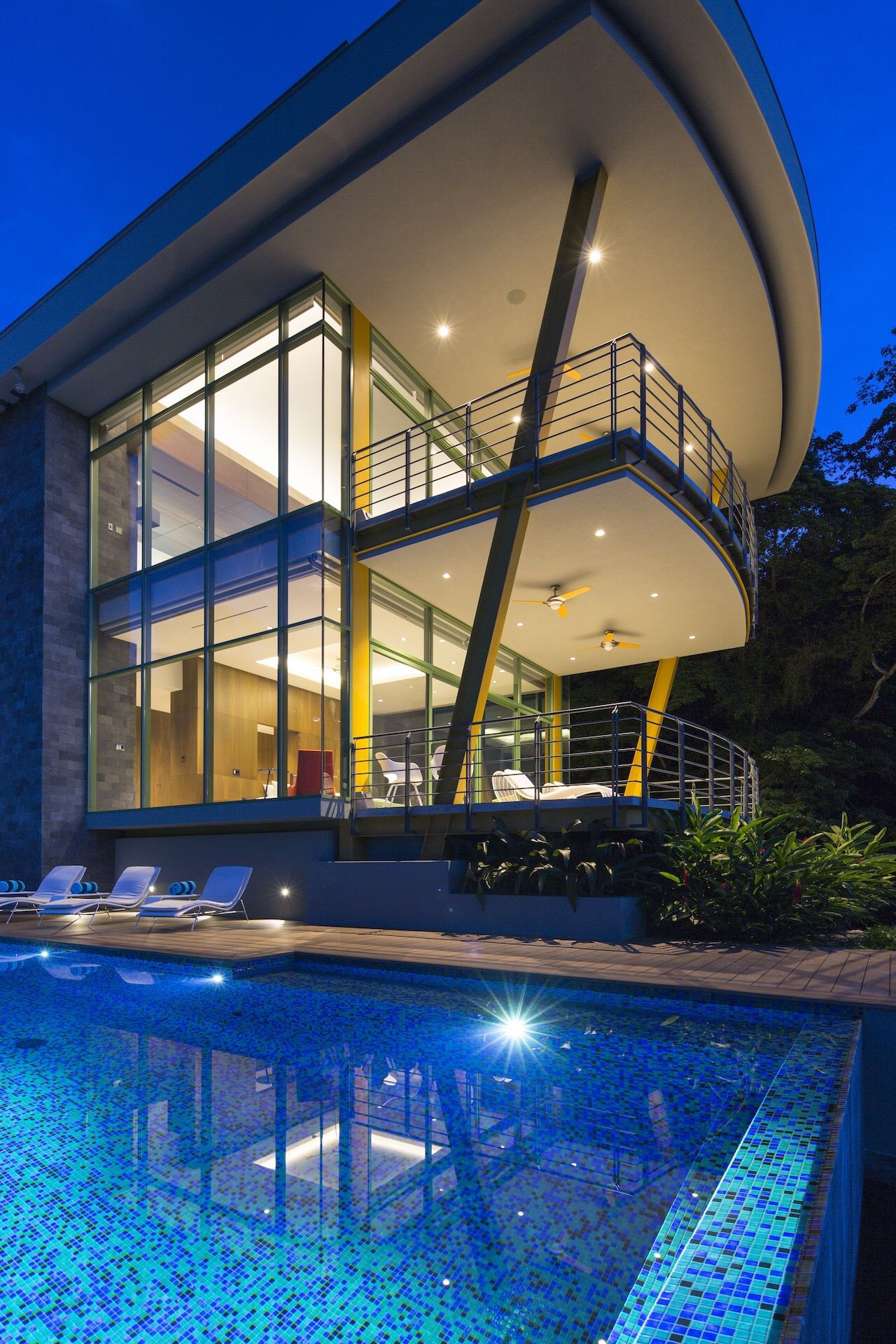 Casa Magayon Tropical Modern Luxury House By Sarco Architects Costa Rica