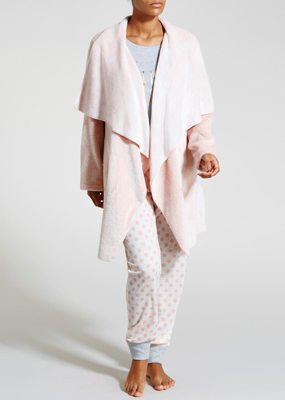 Waterfall Dressing Gown Nightwear Pinterest Gowns