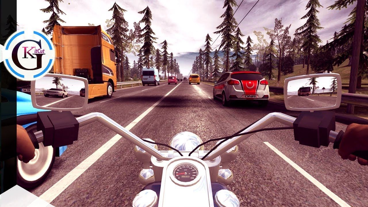 Bike Vs Car Race On Highway Motorcycle Ultra Racing Gameplay