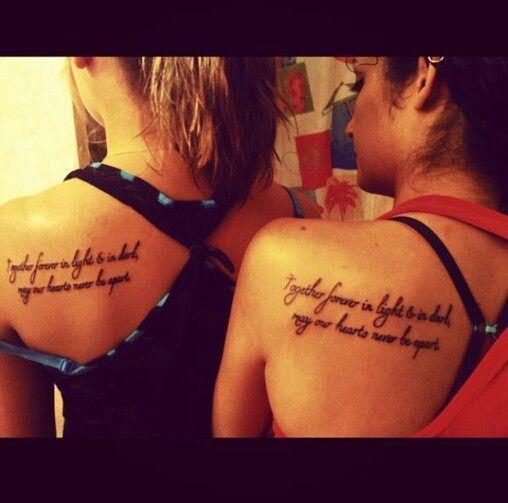 Friend Tattoos – friendship quotes tattoos for girls | Tattoo ...