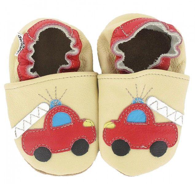 Krabbelschuhe für Babys aus Leder von HOBEA Germany | HOBEA