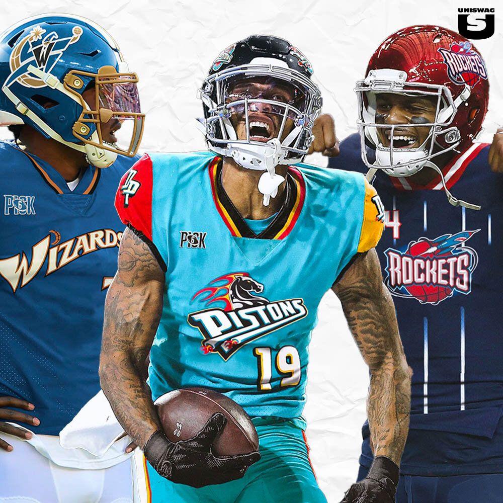 NFL x NBA Uniform Mashup — UNISWAG in 2020 Nba uniforms