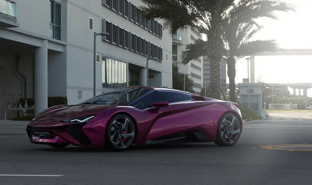 Modernistic Vensepto Concept Car by Steel Drake