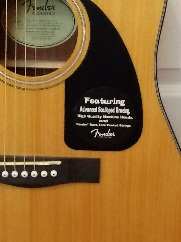 Fender guitar with case and guitar strap for Sale in Keller, TX - OfferUp #fenderguitars