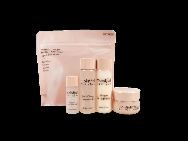 Etude House Moistfull Collagen Skin Care Kit 4 Kinds Sample Weight 156g In 2020 Moistfull Collagen Collagen Skin Care Etude House Moistfull Collagen