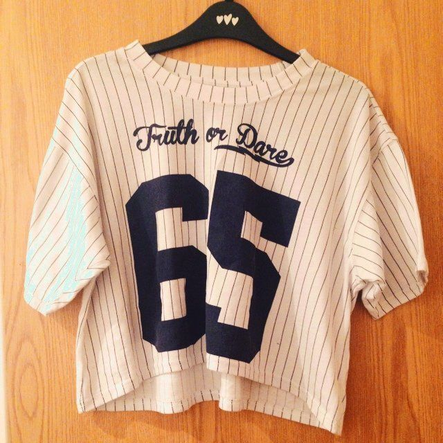 baseball crop top - Google Search  121d9e0a29b