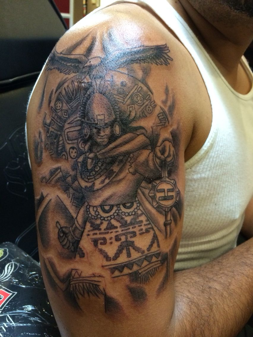 Tatuajes Con Motivos Incas tatuajes incas