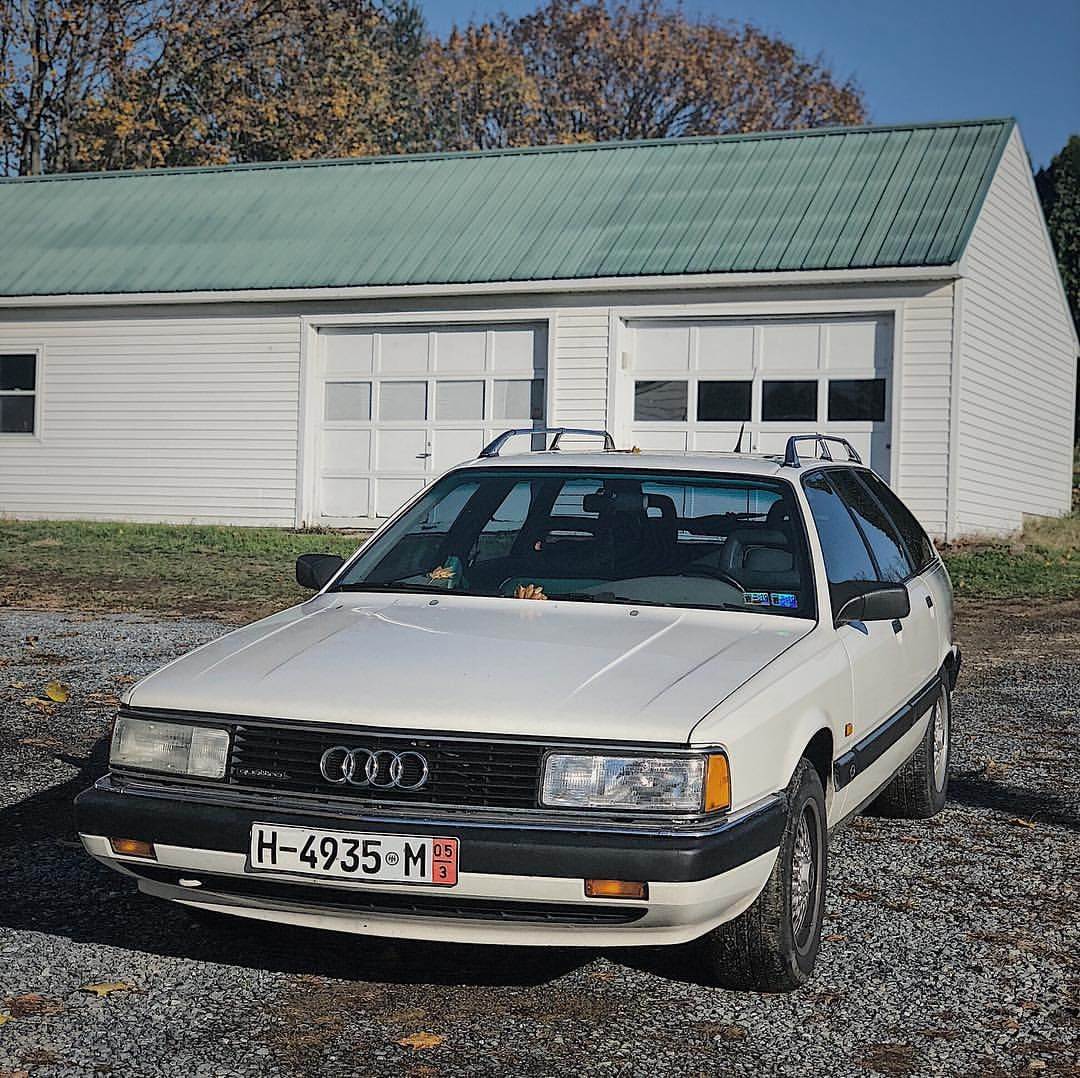 Falling In Love With This 1991 Audi 4000 Quattro Avant Audi