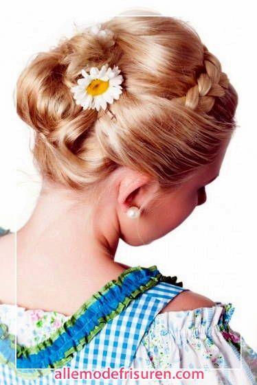 awesome   dirndl frisuren kurze haare, tracht frisur