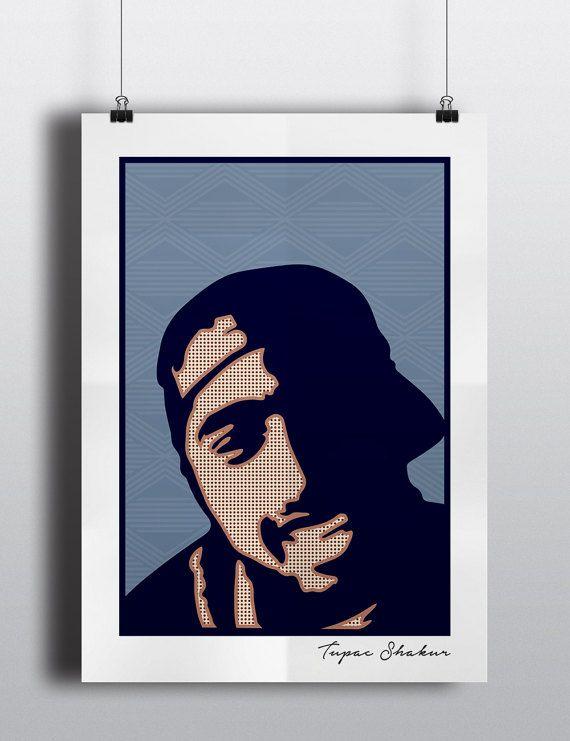 d42f40e8b64 TUPAC Poster Print
