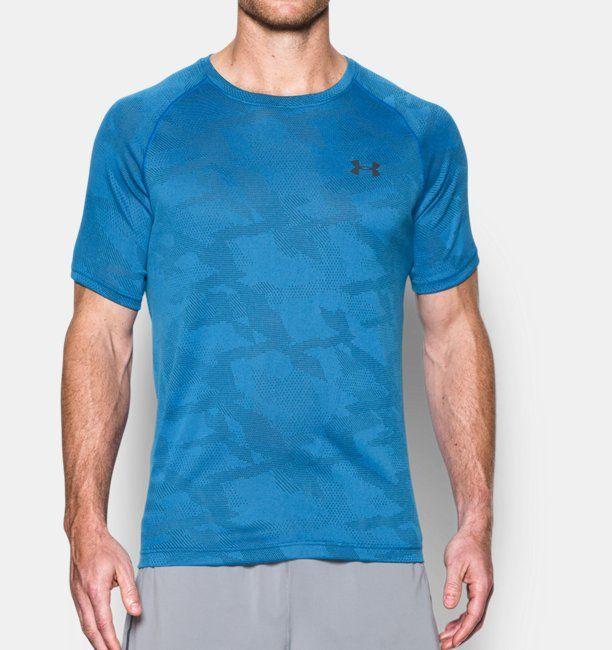 T-shirt UA Tech™ Jacquard pour homme