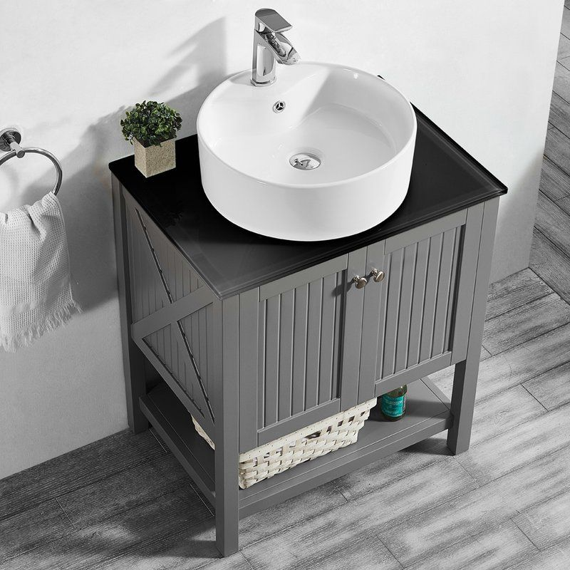 Naccarato 28\u0027\u0027 Single Bathroom Vanity Set cabin Pinterest