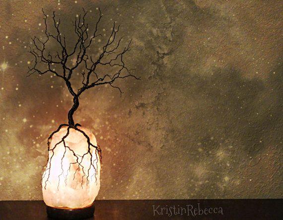 Himalayan Salt Lamp Target Wire Tree Of Life Sculpture Twisted Wire Tree Himalayan Salt Lamp