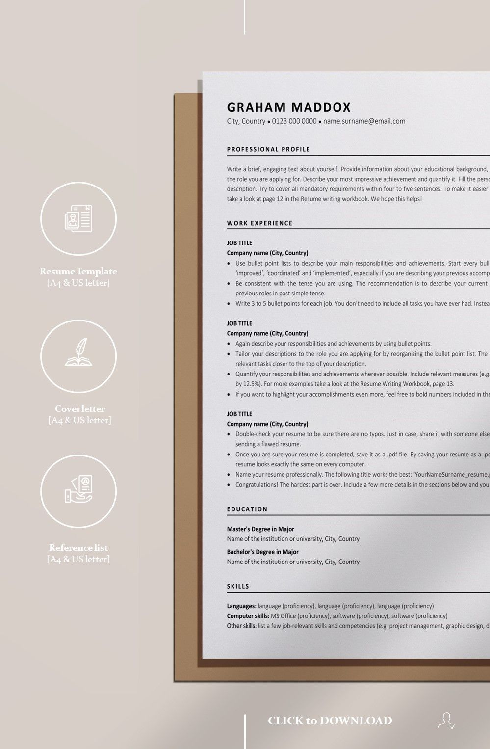 36+ What is ats resume template Resume Examples
