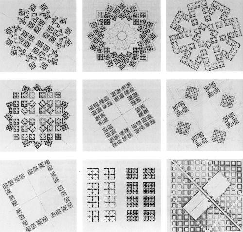 Ricardo Bofill, Studies for Ideal Cities