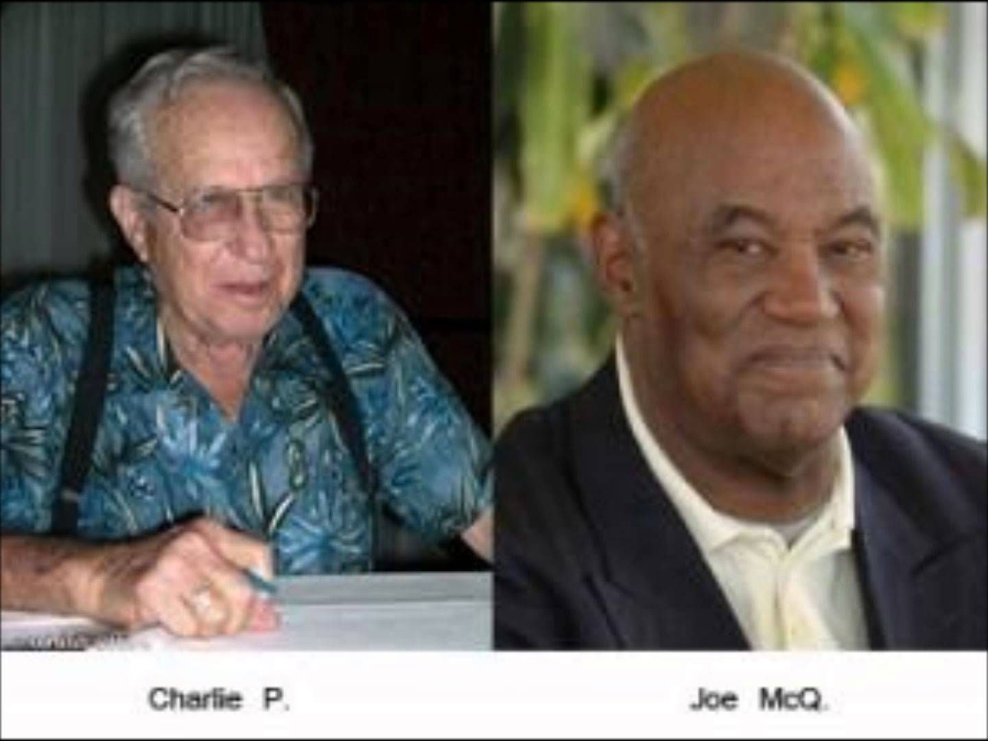 Joe And Charlie Aa History 1