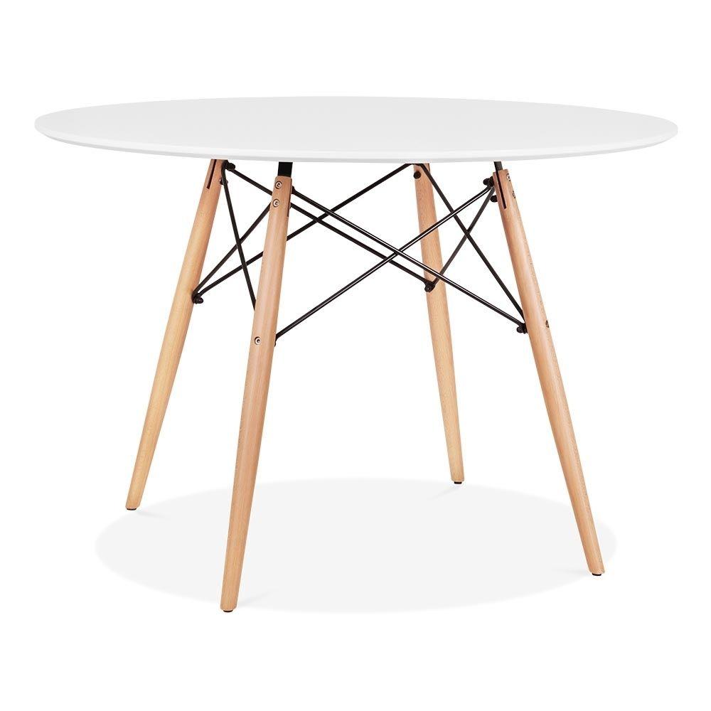 Tisch 110 Cm.Charles E Weiß Dsw Style Runder Tisch 110cm Durchmesser