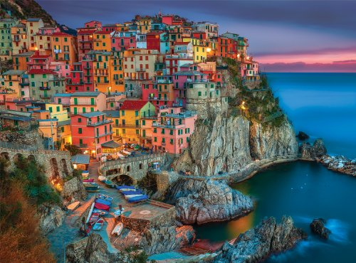 Buffalo Games  Signature Collection  Cinque Terre  1000 Piece Jigsaw Puzzle