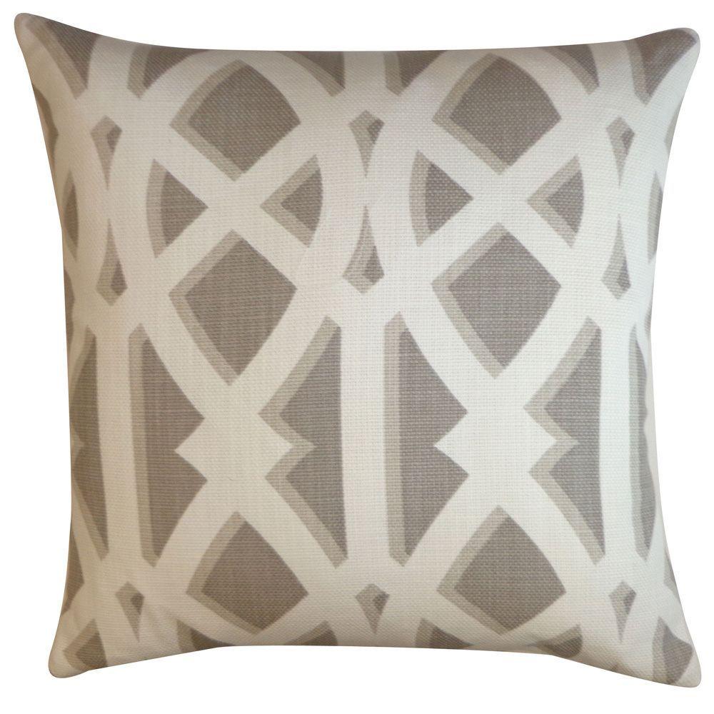 Crossroads tan geometric xinch pillow crossroads tans size
