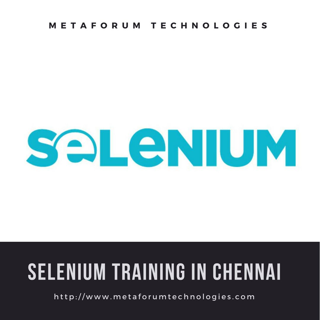 Learn Automation Testing From Our Selenium Training In Chennai Course Modules Include Java Ide Rc Webdriver Grid And Frameworks In Selenium Chennai Train