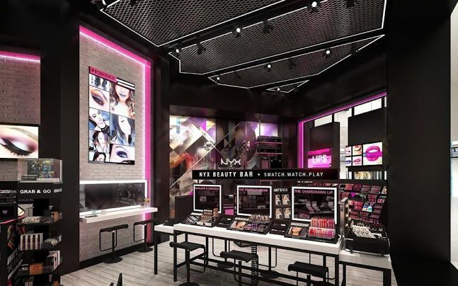 Digital Flagship Beauty Stores Store Design Interior Showroom Design Beauty Store