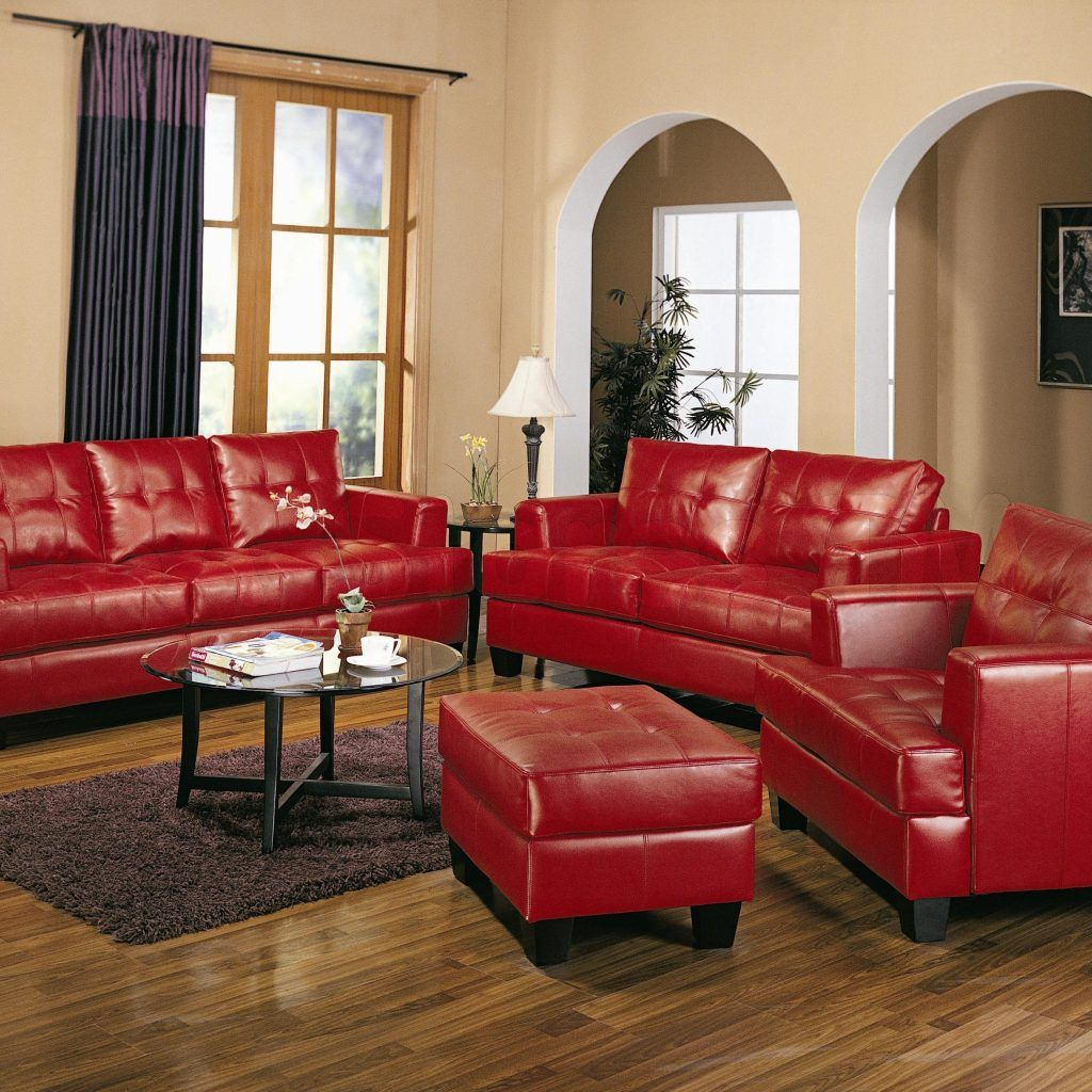 Living Room Decorating Ideas With Red Leather Couch Part 66