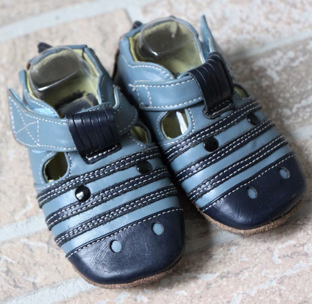 Livie Luca Blue Zebra Leather Baby Shoes Boys 6 12 Months Soft Sole Walking Baby Boy Shoes Baby Shoes Leather Baby