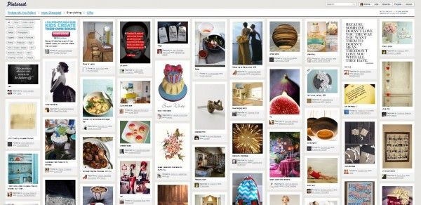 using pinterest as a search engine