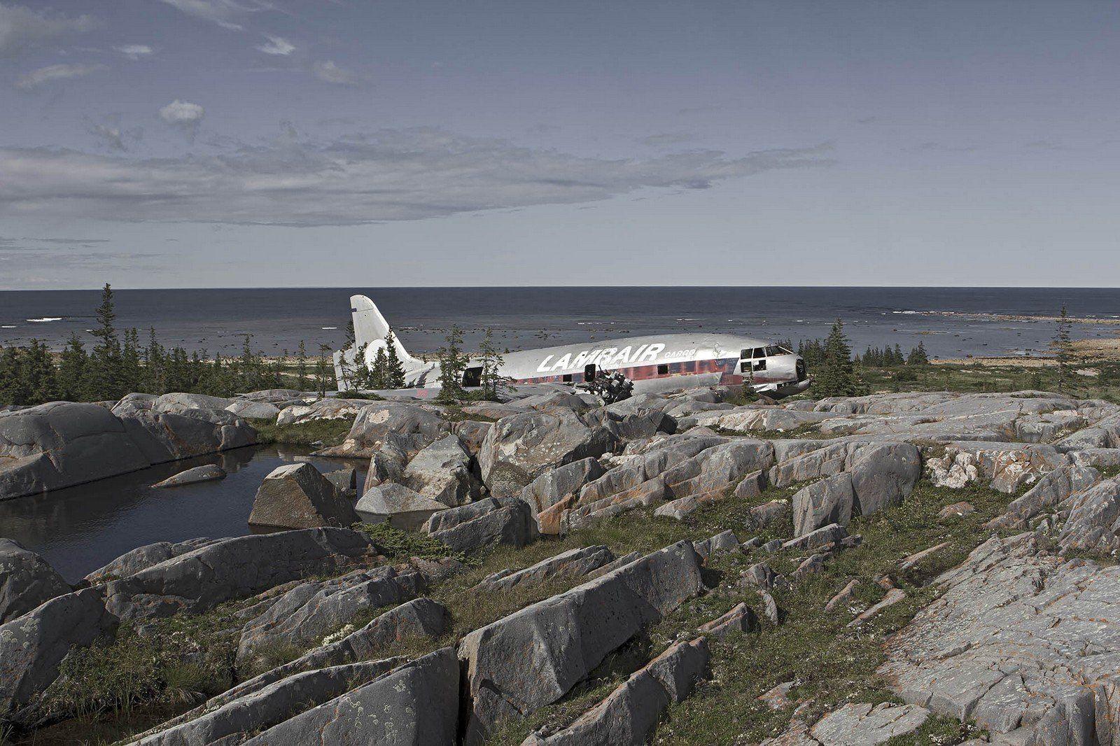 Fotografías de restos de aviones por Dietmar Eckell